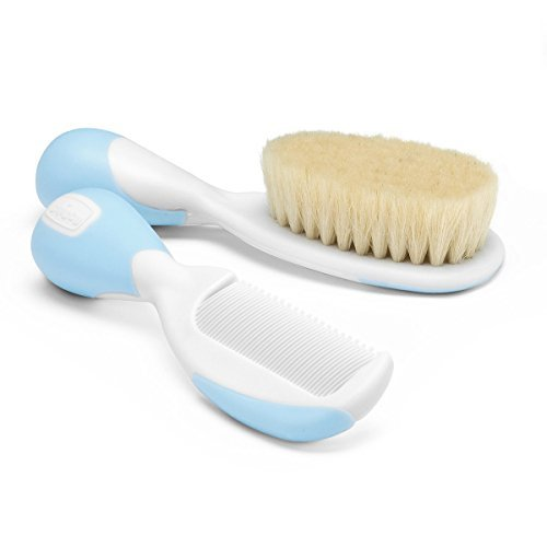 Best Baby Hair Brush and Comb Set (Light Blue) India 2021