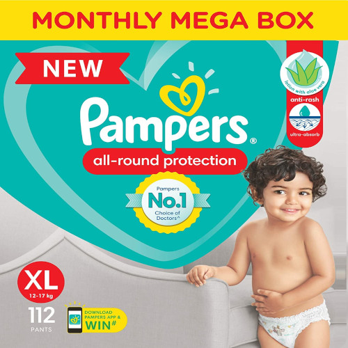 Buy Pampers Diapers XL Online India 2021